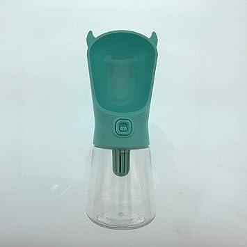 Portátil botella de PET del perro de agua para los pequeños perros grandes gato Viajes potable
