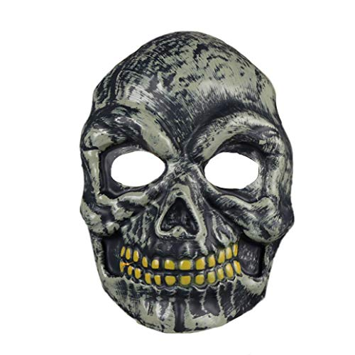 KpopBaby Halloween Horror Grimace Zombie Mask Fancy Dress Party Funny Dress up Props for $<!--$1.04-->