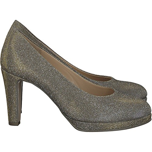 De 41 Gabor Zapatos Mujer 27 Platinum Tacón tqAZP0wRxB