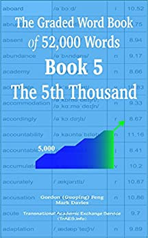 The Graded Word Book of 52,000 Words  Book 5: The 5th Thousand