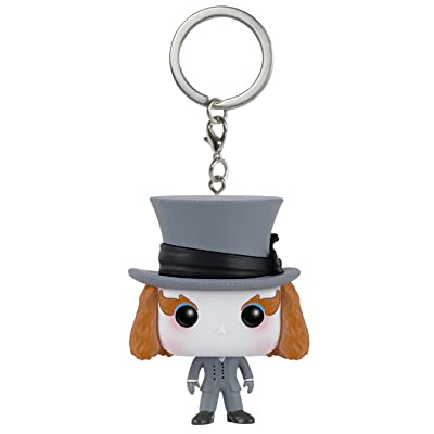 Funko POP Keychain: Alice: Through The Looking Glass Mad Hatter Action Figure: Funko Pocket Pop! Keychain:: Toys & Games