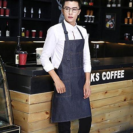 ZANTEC Grembiule Cuoco Grembiule Pittura Cameriere Cucina Casa ZANTEC Grembiule  Cuoco Grembiule Pittura Cameriere Cucina Casa 5993e8246c24