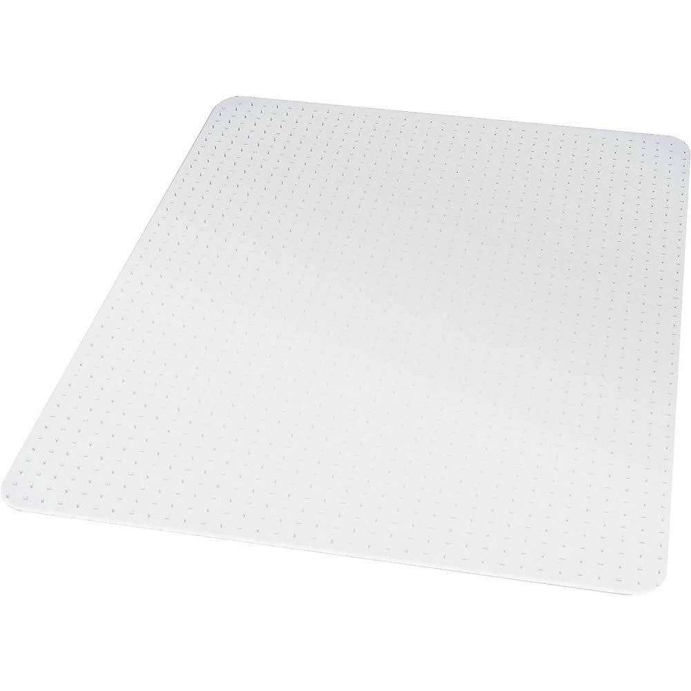 Staples 567302 46'' X 60'' Low Pile Carpet Chair Mat Rectangular