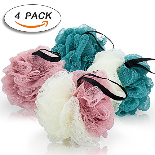 Bath Bands Ties Ropes Scrunchie for Women or Girls 4 Pcs Colors