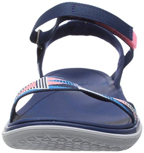 Damn Float New Ws Sport- & Outdoor Sandalen Blue (fondant Pink 551)