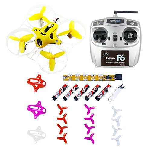 QWinOut Tiny7 RTF Combo Mini Racing Drone Quadcopter with 800TVL Camera Feiyusky F6 Transmitter Receiver