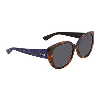 Lunettes de soleil Christian Dior DIORLADY1RF C58 GRS (HD)  Amazon.fr   Vêtements et accessoires e161a4f7eaac