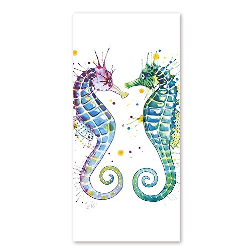 Beach Towel Modern Seahorse Lovers Design 30 x 60 Inches Machine Washable, Perfect for College Dorm, Pools, Gyms, Beaches, Locker Rooms, Bathroom Shower Wrap, Beach Wrap, Bath Wrap, Spa - Native Cheap Sunglasses