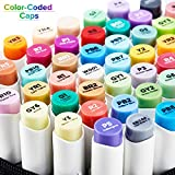 48 Colors Alcohol Brush Markers, Ohuhu Double
