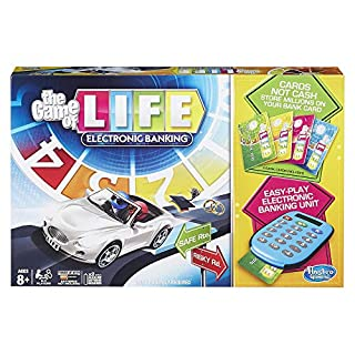 Hasbro Gaming The Game of Life Electronic Banking