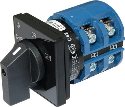OFF 2 Positions 120V AC 65A AC Rotary Switch