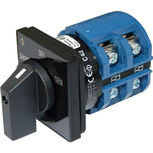 Image of AC Rotary Switch - OFF + 2 Positions 120V AC 65A Electrical Equipment