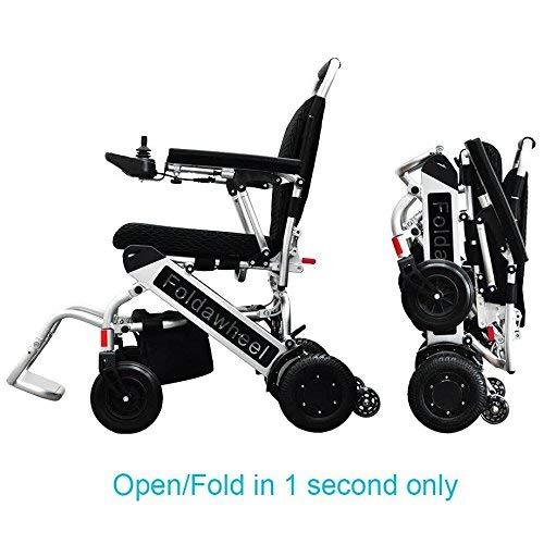 Foldawheel PW-999UL (2 batteries+2 yrs warranty+Free travel bag) Open/Fold...