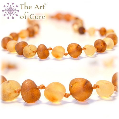 The Art of Cure Baltic Amber Teething Necklace - Raw 1x1