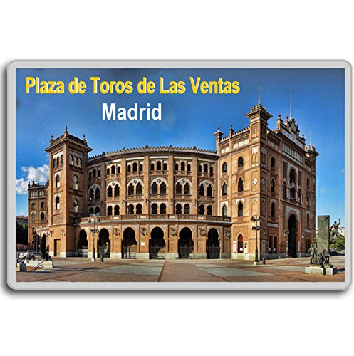Madrid/Plaza de Toros de Las Ventas/fridge magnet..!!!! (Madrid Plaza)