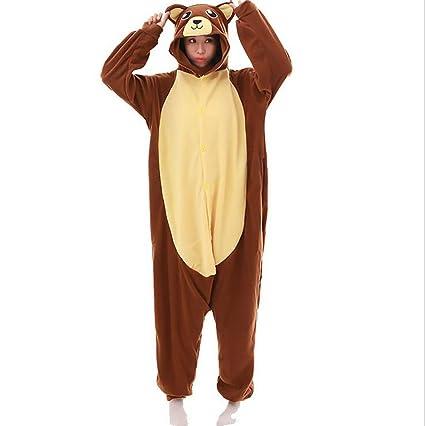 SHANGXIAN Unisexo Cartoon Pijamas Animales Kigurumi Cosplay Disfraz Adulto Onesies Fiesta Anime Ropa De Dormir,