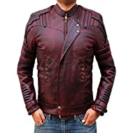 Star Lord GOTG 2 Maroon Leather Jacket - L