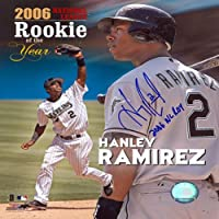 Hanley Ramirez ROY 2006 Autographed Signed Florida Marlins Baseball 8x10 Photo
