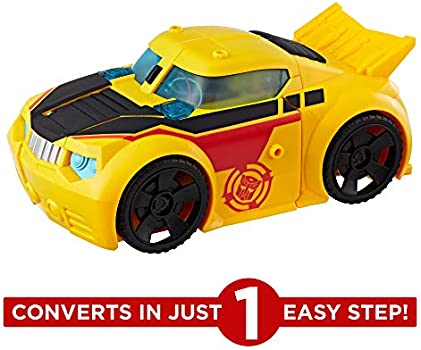 Transformers Rescue Bots Playskool Heroes Rescue Guard Bumblebee Action Figure