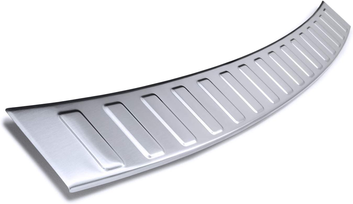 tuning-art BL970 Ladekantenschutz Kombi mit 3D Profil fahrzeugspezifische Passform Farbe:Silber