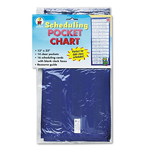 CDPCD5615-33 - Carson-Dellosa Publishing Scheduling Pocket Chart - Each by Janitorial Supplies