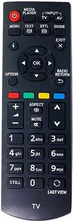 ALLIMITY N2QAYB000816 Mando a Distancia reemplazado por Panasonic Viera TV TX-32A400B TX-32A400E TX-39AW404 TX-50AW404 TX-L24XM6B TX-L24XM6E TX-L32B6E TX-39A400B TX-L19XM6B TX-L19XM6E: Amazon.es: Electrónica