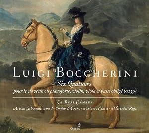 """Afficher """"Six quatuors pour le claveçin, violon, viola et basse obligé"""""""