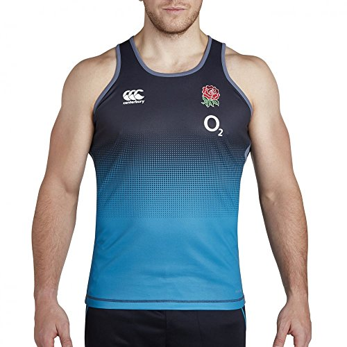 CCC England Vapodri Poly Graphic Singlet (medium)