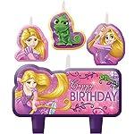 Amscan-171627-Candele-di-compleanno-di-film-Rapunzel-635-cm-x-762-cm