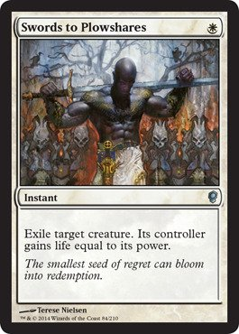 Magic: the Gathering - Swords to Plowshares - Conspiracy