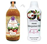 Mangosteen 100 - 100% Pure Undiluted ORGANIC Juice ~ GENESIS TODAY 32oz Bottle ~ 30g Pure Fruit Pulp Per Serving!!!