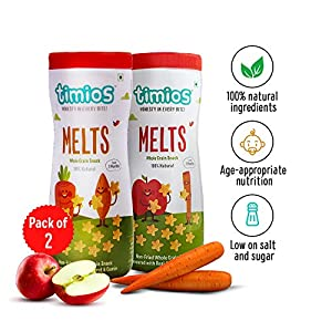Timios Mix Flavours Melts Healthy & Natural Energy Food Product For Children 9+ Months – Pack Of 2