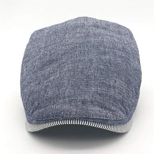 Cotton Gorras Planas Male Beret Vintage Flat Cap Boinas Berets Headwear Mens Hats Casquette Casual Caps (Beige) at Amazon Mens Clothing store: