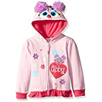 Sesame Street Abby Cadabby Little Girls Toddler Costume Hoodie