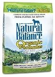 Natural Balance Organic Formula Dry Dog Food, 25-Pound Bag, My Pet Supplies