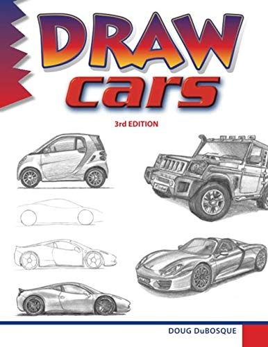 how to draw classic cars - 4