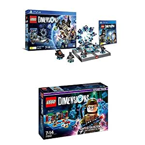 LEGO - Starter Pack Dimensions (PS4) + LEGO Dimensions: Nuevo Ghostbuster (Story Pack)