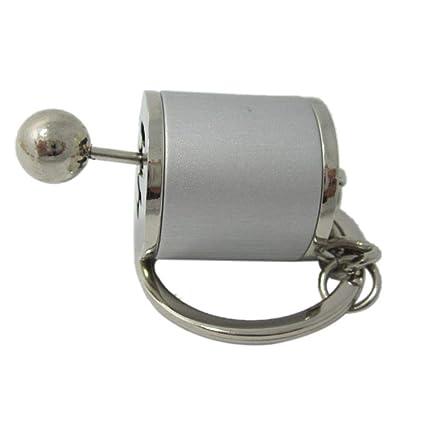 Augneveres Llavero de Palanca de Cambios Llavero de Metal ...