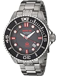 Invicta Mens 19798 Pro Diver Analog Automatic Stainless Steel Silver Casual Watch