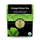 Organic Gingko Biloba Tea – Kosher, Caffeine-Free, GMO-Free – 18 Bleach-Free Tea Bags