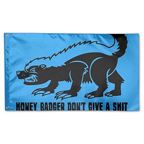 Honey Badger Home Garden Flags Polyester Flag Indoor/Outdoor Wall Banners Decorative Flag Garden Flag 3x5 Foot