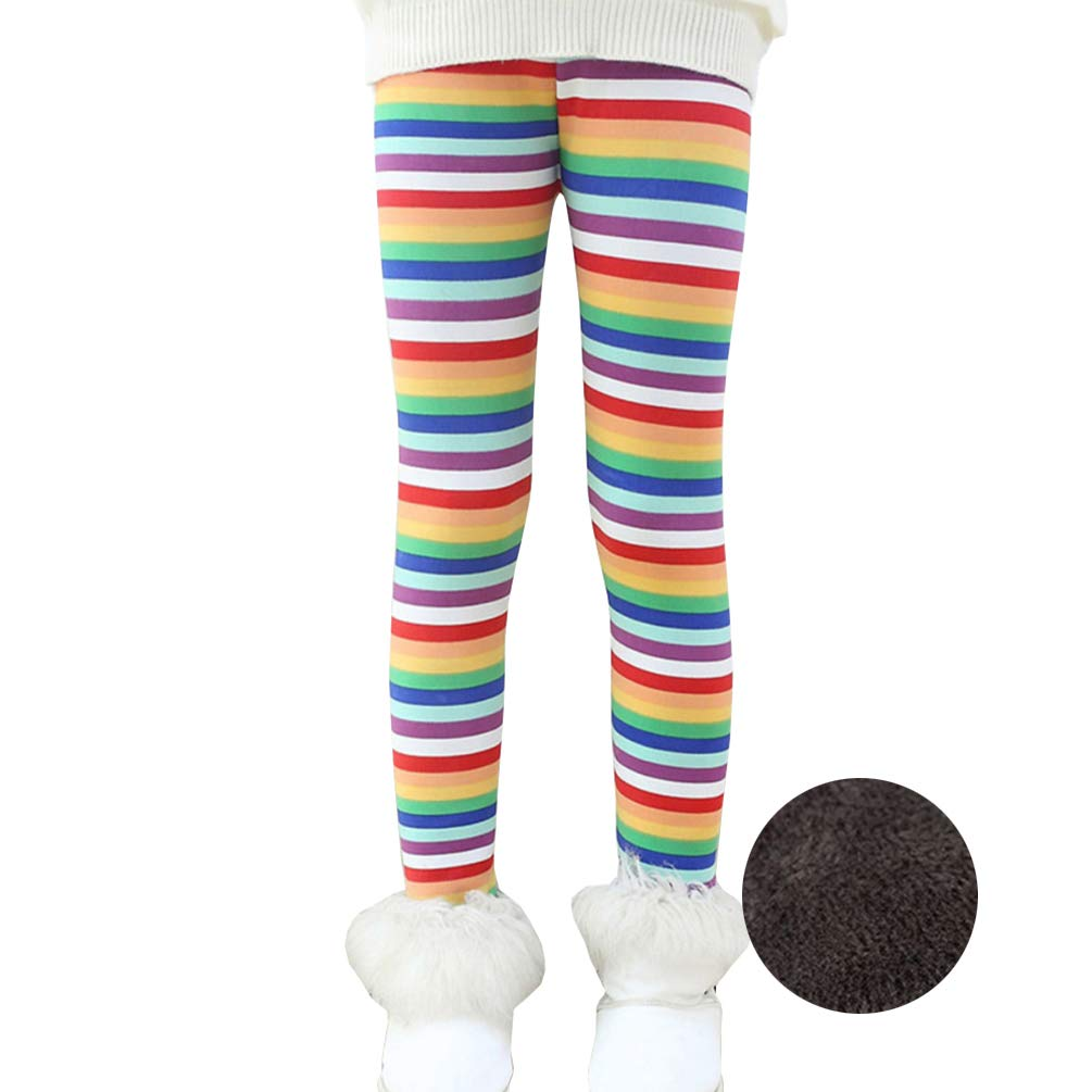 8563dfcf3f18bf Pull on style with elastic waistband ,full length ,thick leggings offers  comfortable fit. Soft fleece lining has a warm fuzzy feel to keep child  warm ...
