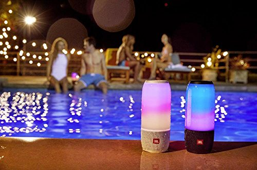 JBL Pulse 3 Wireless Portable Speaker with Vibrant Lightshow (Black)