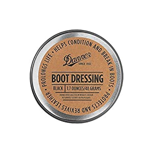 Danner Boot Dressing Black (1.7 OZ) | Condition, Protects and Revives Leather Boots |Shoe Care for Leather Boots, Shoes, Bags, Seats, Leather Sofa | For Use on Full-grain Leather Only | Made in USA