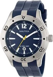 Nautica Unisex N14641G NST 401 Atlantis Date Classic Analog with Enamel Bezel Watch