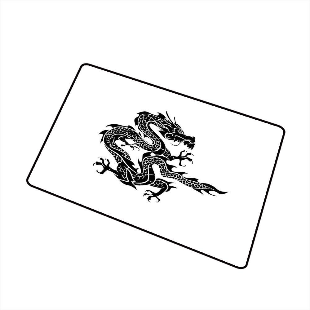 Amazon com : RelaxBear Japanese Dragon Front Door mat Carpet