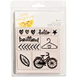 Finders Keepers Collection Clear Acrylic Stamps Small Set (8 Pack)