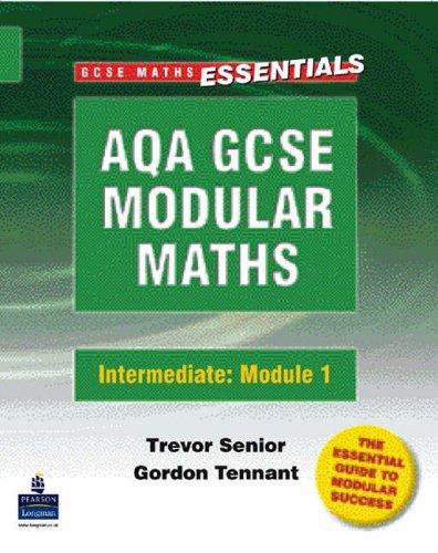 AQA Modular GCSE Maths: Intermediate Module 1 Handling Data Intermediate Module 1 Handling Data (GCSE Maths Essentials) pdf epub