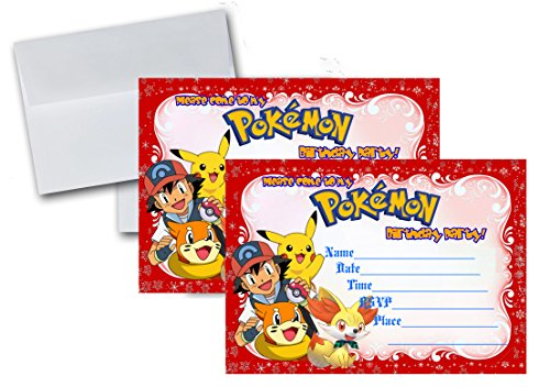 Crafting Mania LLC. 12 Happy Birthday Invitation Cards (12 White Envelops Included) #1