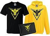 Bullshirt's Kid's Team Instinct T-Shirt, Hoodie & Wallet Set 12-13 Years